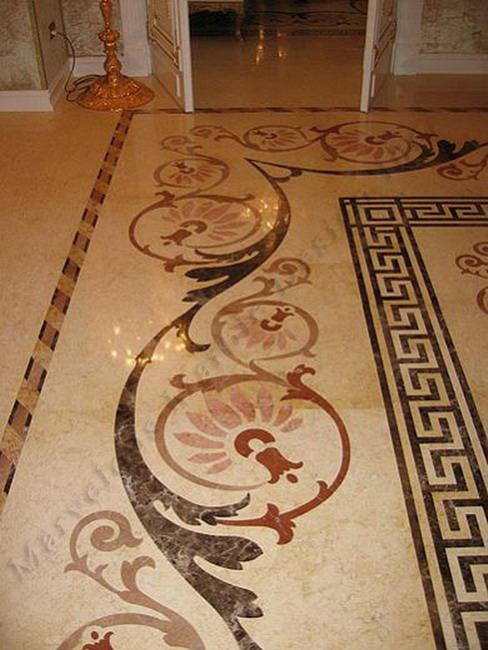 marble floor pattern