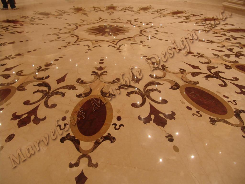 marble borders and medallions