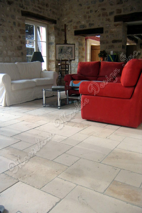 french limestone floor designs