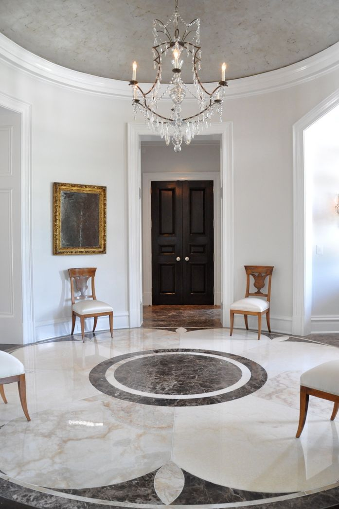 marble floor design » Spanish Marble Floor Design in New York