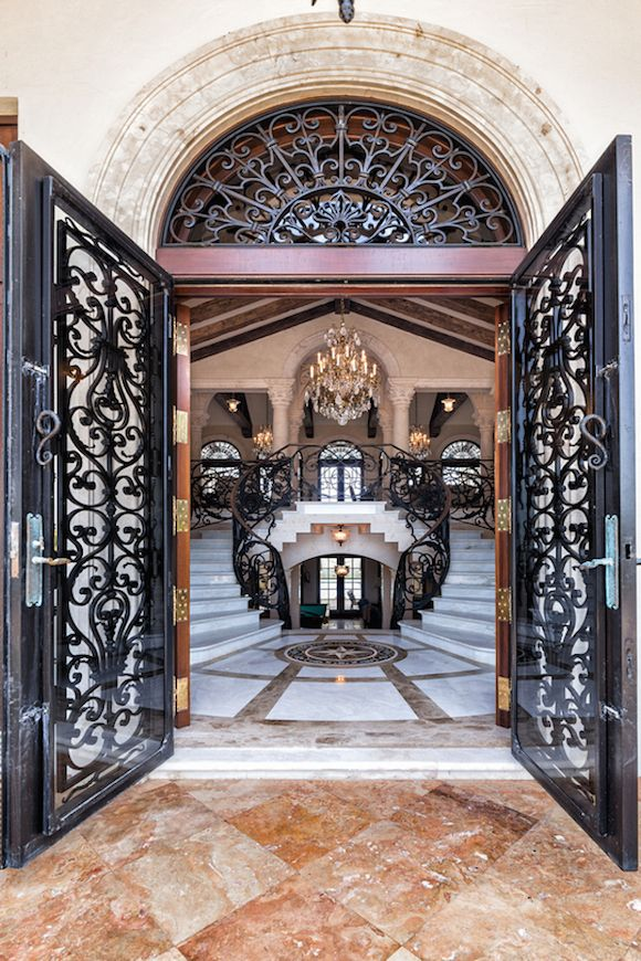 marble floor design Elegant Entryway Marble Floor Design