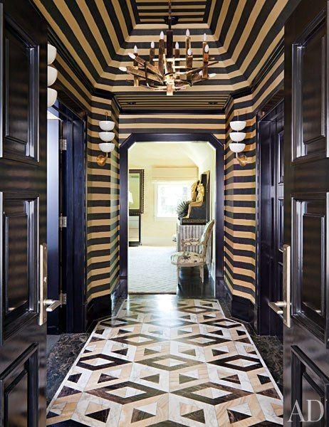 Hallway Marble Floor Design