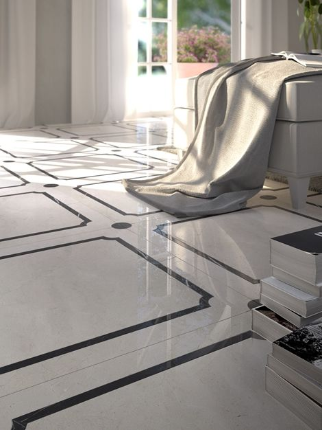 marble floor design » marble flooring border designs for luxury ...