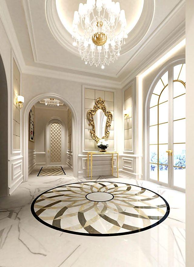 Luxury Marble Floor Designs In California